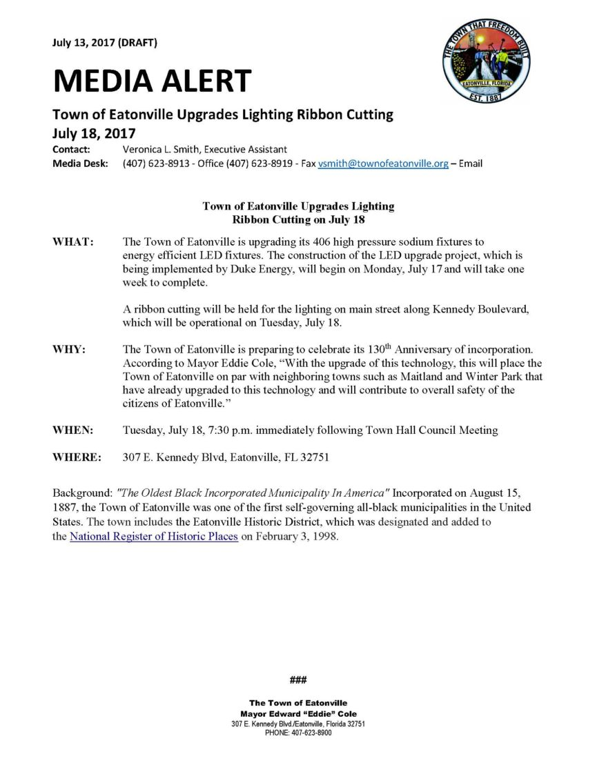Town of eatonville upgrades lighting ribbon cutting leave a reply cancel reply arubaitofo Image collections